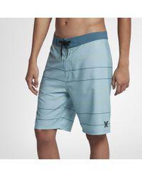 "Hurley Blue Main Street 20"" Board Shorts for men"