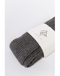 Baserange | Gray Overknee Socks Grey for Men | Lyst