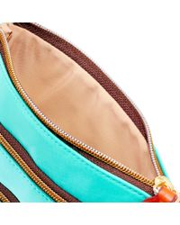 Dooney & Bourke - Multicolor Nylon North South Triple Zip - Lyst