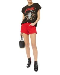 MadeWorn - Black Bowie Stardust Distressed T-shirt - Lyst