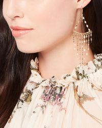 Argento Vivo - Metallic Pailette Chandelier Earrings - Lyst
