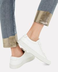 Rag & Bone Blue Ankle Cigarette Jeans