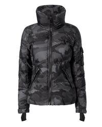 Sam. - Black Freestyle Camo Puffer Jacket - Lyst