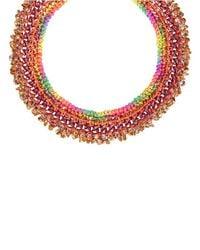 Venessa Arizaga | Orange Marina Necklace | Lyst