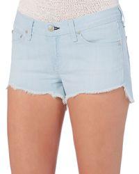 Rag & Bone - Blue Rag & Bone/jean Ashling Cut Off Shorts - Lyst