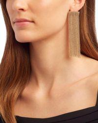 Rosantica - Metallic Chain Fringe Earrings - Lyst