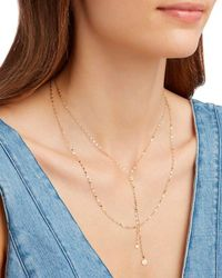 Lana Jewelry | Metallic Petite Blake Necklace | Lyst
