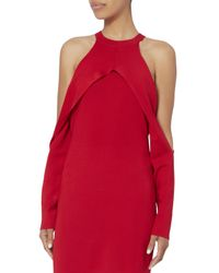 Dion Lee - Red Cherry Sleeve Release Dress - Lyst