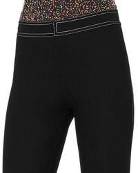 10 Crosby Derek Lam - Black Topstitch Flare Pants - Lyst