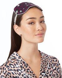 Olivia Von Halle - Multicolor Marilyn Reversible Eye Mask - Lyst