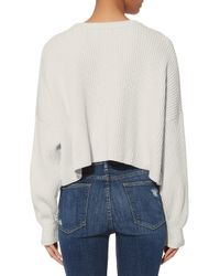 Intermix - White Kerri Sweater - Lyst