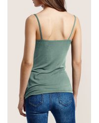 Intimissimi - Green Strappy Tank-top - Lyst