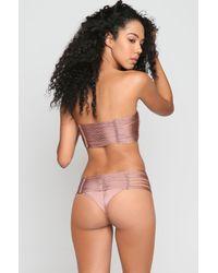 Indah - Multicolor *ishine Exclusive* Fallen Bikini Bottom - Lyst
