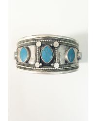 Natalie B. Jewelry | Metallic Sahar Cuff | Lyst