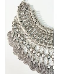 Natalie B. Jewelry | Metallic Fit For A Queen Statement Collar | Lyst