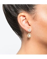 Ivanka Trump - Multicolor Pavé Floater Earrings - Lyst