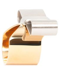 J.W.Anderson - Multicolor Bow Ring - Lyst