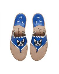 Jack Rogers   Blue Exclusive Frenchie Sandal   Lyst