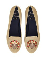 Jack Rogers | Blue Exclusive Thanksgiving Flat | Lyst