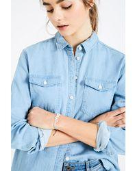 Jack Wills - Blue Latteridge Floral Adjustable Bracelet - Lyst