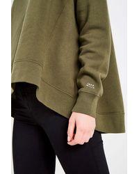 Jack Wills - Green Bridestones Funnel Neck Sweatshirt - Lyst