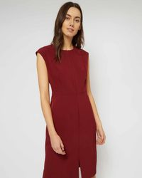 Jaeger - Structured Shift Dress - Lyst