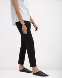 Jaeger - Black Wool Slim Trousers - Lyst