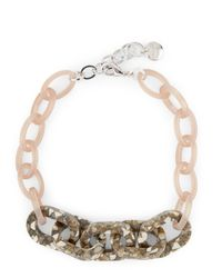 Jaeger - Multicolor Monica Mosaic Links Necklace - Lyst
