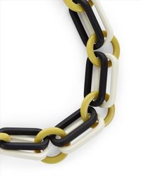 Jaeger | Yellow Resin Colour Pop Necklace | Lyst