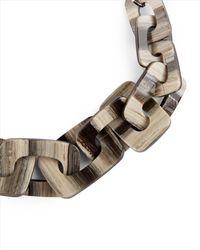Jaeger - Multicolor Ariel Resin Link Necklace - Lyst