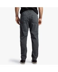 James Perse - Multicolor Stretch Poplin Utility Pant for Men - Lyst