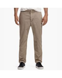 James Perse - Multicolor Compact Cotton Minimal Chino for Men - Lyst