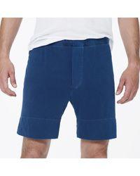 James Perse | Blue Boxer Short - Classic Fit for Men | Lyst