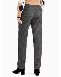 Jason Wu - Gray Wool Flannel Slim Pant - Lyst