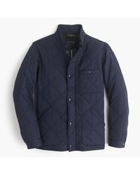 J.Crew | Blue Sussex Quilted Jacket for Men | Lyst