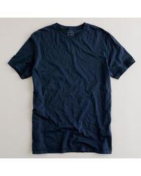 J.Crew | Blue Slim Broken-in T-shirt for Men | Lyst