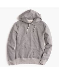 J.Crew - Gray Wallace & Barnes Pullover Hoodie for Men - Lyst