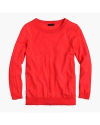 J.Crew - Red Tippi Merino Wool Sweater - Lyst