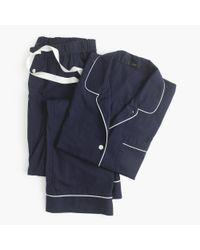 J.Crew - Blue Vintage Pajama Set - Lyst
