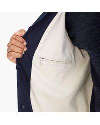 J.Crew - Blue Seaside Trench Coat for Men - Lyst