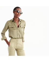 J.Crew - Green Petite Women's 2011 Blythe Shirt for Men - Lyst