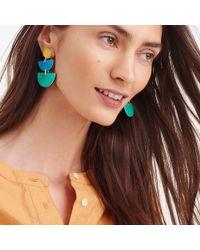 J.Crew - Multicolor Half-moon Earrings - Lyst