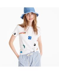 J.Crew - White X Isabel Bacon T-shirt - Lyst