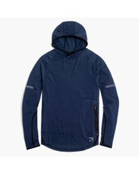 J.Crew - Blue New Balance Workout Hoodie for Men - Lyst