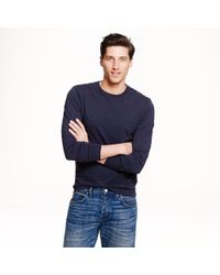 J.Crew | Blue Slim Broken-in Long-sleeve T-shirt for Men | Lyst