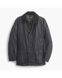J.Crew | Blue Barbour Sylkoil Ashby Jacket for Men | Lyst