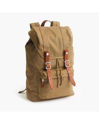 J.Crew | Natural Harwick Backpack for Men | Lyst