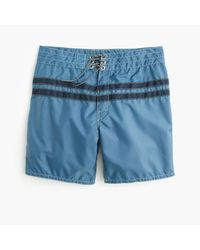 J.Crew | Blue Birdwell Board Short In Stripe for Men | Lyst