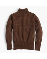 J.Crew | Brown North Sea Clothing Diver Turtleneck Sweater for Men | Lyst