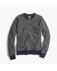 J.Crew | Blue Bird's-eye Sweatshirt for Men | Lyst